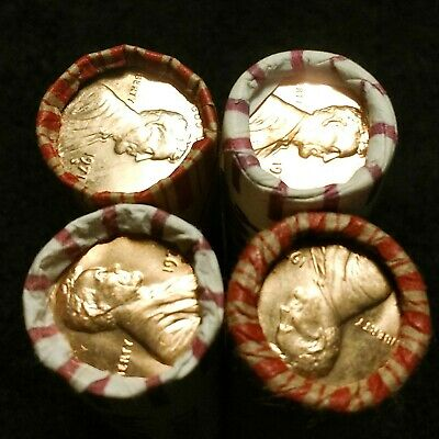 15 Rolls 1972-P Uncirculated/BU Lincoln Memorial Cents