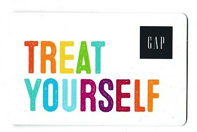 Gap collectible gift card no value mint #04 Treat Yourself