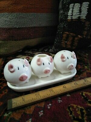 Vintage Salt And Pepper Shakers 🐷 🐷 🐷