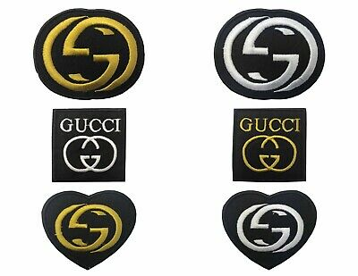 GUCCI  Iron On Sew On Embroidered Patch