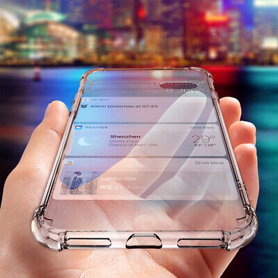 Transparent Phone Case TPU Cover 1.5mm Anti-fall Protect Case for Samsung S8