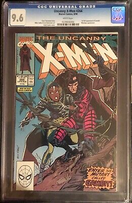 The Uncanny X-Men #266 Comic Cgc 9.6 White Pages Key First Appearance Of Gambit
