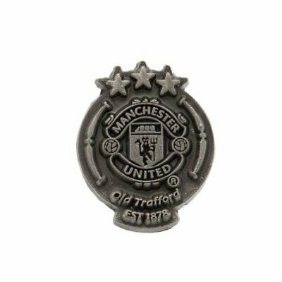 Manchester United F.C. Antique Style Crest Pin Badge Brand New