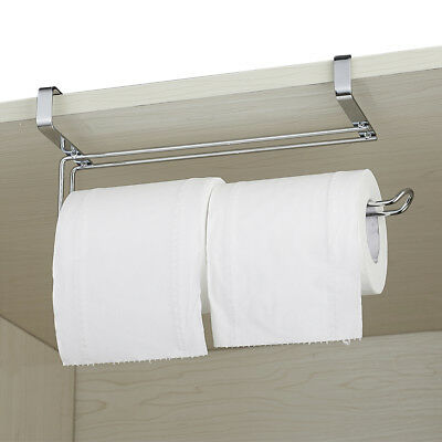 Kitchen Paper Towel Holder Dispenser Stainless Steel Racks Under Cabinet Wall
