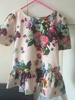 Ted Baker Girls Flower Summer Too Age 9-10 Years