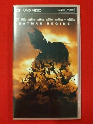 UMD for PSP JAPAN - BATMAN BEGINS - Movie JAPANESE Used VGC