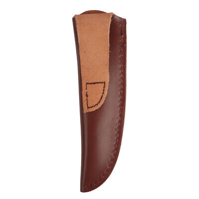 Tourbon Genuine Leather Knife Sheath Cover Knives Holder Holster Fixed Blade 6""