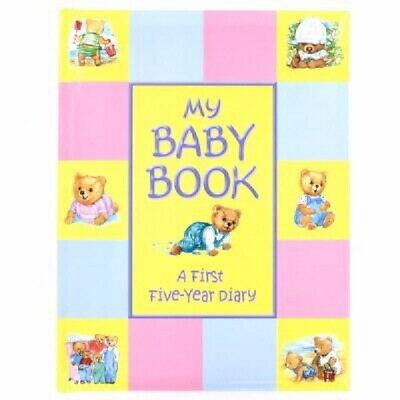 Treasured Memories My Baby Book Five Year Diary Record Book Ideal Present Gift
