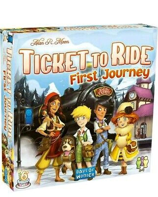 Ticket to Ride First Journey Days Of Wonder Brand New Factory Sealed