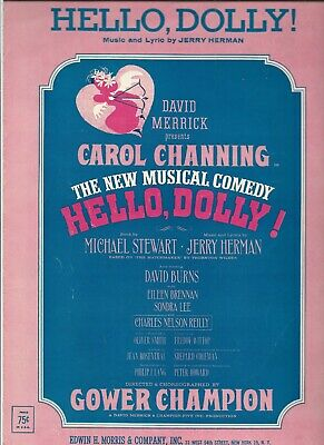 Hello Dolly      Vintage Sheet Music