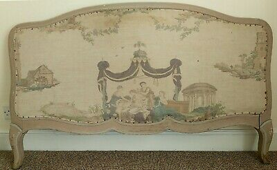 Antique Shabby Chic Headboard for Child's Bed (collection only)