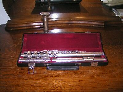 Bettoney Boston Sterling Silber Flute Traversflöte Antiques Strong-Willed Alte Seltene Querflöte H Musical Instruments & Gear