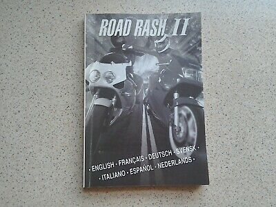 Road Rash 2 Manual - Sega Mega Drive - NO GAME MANUAL ONLY
