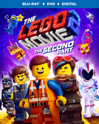 The LEGO Movie 2: The Second Part (Blu-ray + DVD + Digital) Brand New