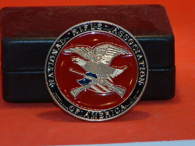Pre-Owned National Rifle Association of America Belt Buckle
