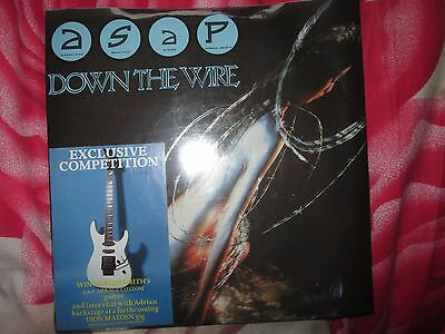 ASAP Iron Maiden ‎Down The Wire  EMI  EMS 131 NEW Sealed  Vinyl 7inch Single
