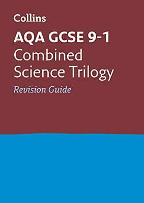 Grade 9-1 GCSE Combined Science Trilogy AQA R by Collins GCSE New Paperback Book