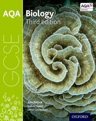 AQA GCSE Biology Student Book by Ann Fullick New Paperback Book