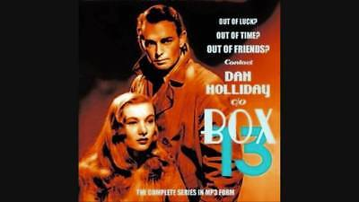 BOX 13 Complete Set - OTR - Old Time Radio Show- Alan Ladd - MP3 DVD