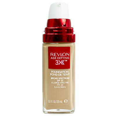 Revlon Age Defying 3X Foundation 30mL - Soft Beige 30