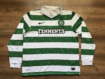 Celtic Scotland 2010/2012 Home Football Shirt Jersey Camiseta Soccer Nike