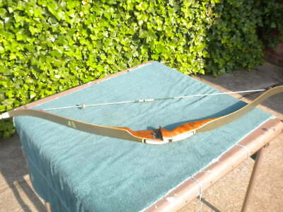 Vintage Wards Western Field Deluxe Hunter Bs-5436 Right Hand Recurve Bow Recurve