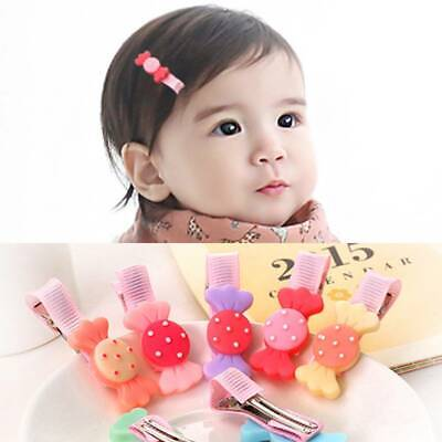 6Pcs/Lot Cute Kids Hair Clips Baby Attractive Hair Pins Hair Accessories Gifts