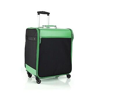 Debbee Flip 'N Pack Expandable Rolling Craft Storage Case GREEN Brand New NWT