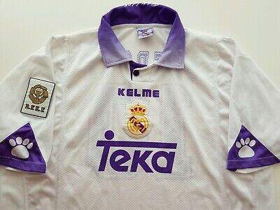 520d36262c0 Camiseta Real Madrid Match worn Seedorf shirt 1998 jersey Kelme Holland