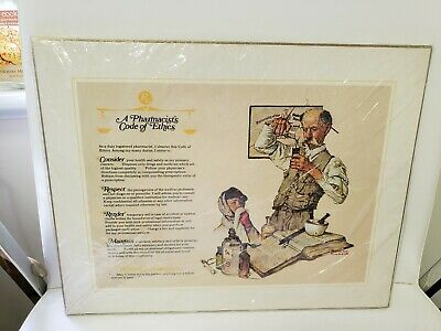 5 Norman Rockwell 11x14 Canvas Prints Cpc 1972 Little