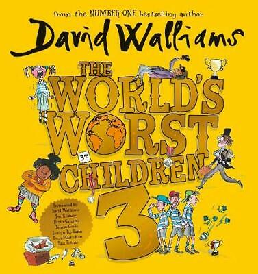 World's Worst Children 3 by David Walliams New CD-Audio Book