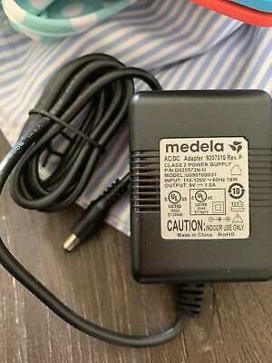 9v 1.0A adapter power cord MEDELA On The Go Advanced breast pump plug electric