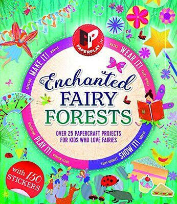 Paperplay - Enchanted Fairy Forest by Gemma Barder New Mixed media product Book