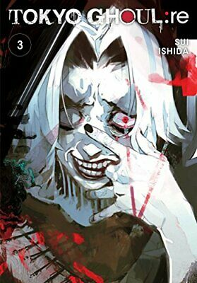 Tokyo Ghoul: re  Vol. 3 by Sui Ishida New Paperback Book