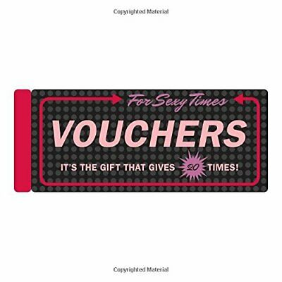 Knock Knock Vouchers for Sexy Times New  Book