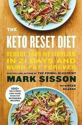 Keto Reset Diet by Mark Sisson New Paperback Book