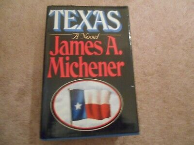 Texas by James A. Michener first edition HC DJ