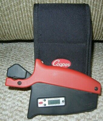 Cooper 4005I Cordless Pipe Clamp Thermocouple Sensor Digital Thermometer