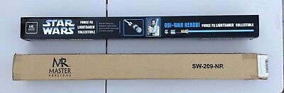 RARE Star Wars Force FX Obi-Wan Lightsaber by Master Replicas WITH BOX