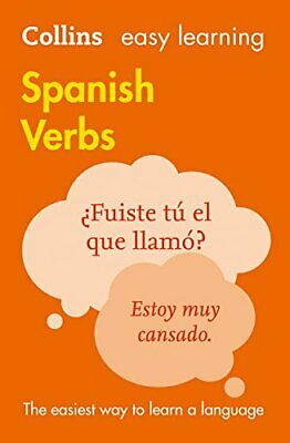 Easy Learning Spanish Verbs by Collins Dictionaries New Paperback Book