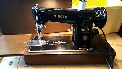 vintage electric Singer sewing machine semi industrial 201K, good working order