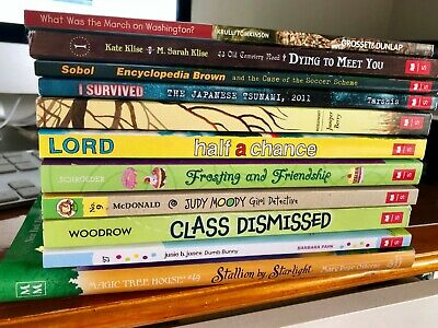 Lot of NEW Chapter Books Young Readers Teachers Summer Reading Paperback Library