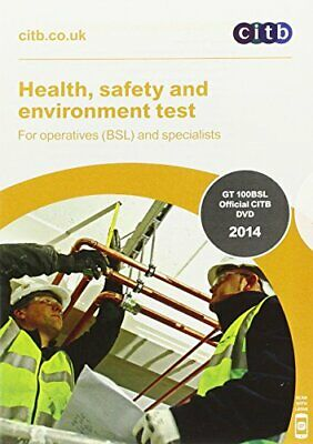 Health  Safety and Environment Test for Operatives (BSL) and Sp New DVD-ROM Book