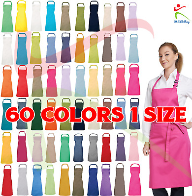 Premier UNISEX Apron Workwear Cooking Baking Restaurant Catering Bib Cafe Top
