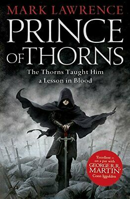 Prince of Thorns by Mark Lawrence New Paperback Book