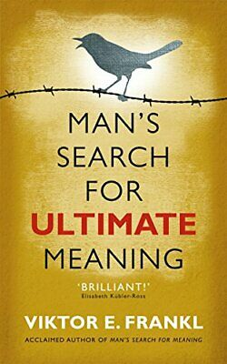 Man's Search for Ultimate Meaning by Viktor E. Frankl New Paperback Book