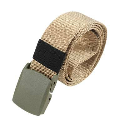 Men's Fashion Outdoor Sports Imitation nylon Waistband Canvas Web Belt