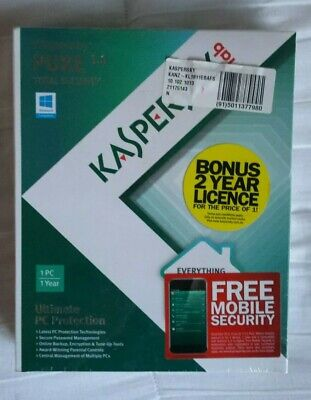 Kaspersky Pure 3.0 Total Security Ultimate Protection