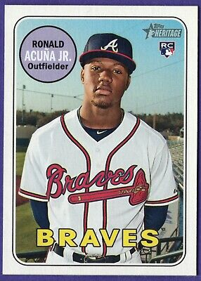 Ronald Acuña Jr. Atlanta Braves (choose your card) Rookies, RC, and more Acuna