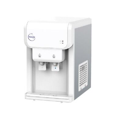 White Water Cooler Dispenser Bench Top Mini Tower POU Direct Connect Mains